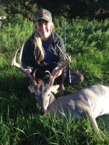 oak creek ranch whitetail deer hunt testimonial by becca