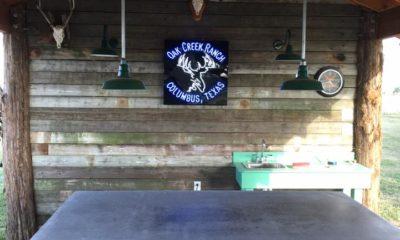 Oak Creek Ranch Fire Pit Outdoor Bar