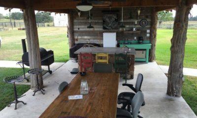 Oak Creek Ranch Outdoor Pavilion Glry