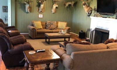 Oak Creek Ranch Columbus Tx Family Room